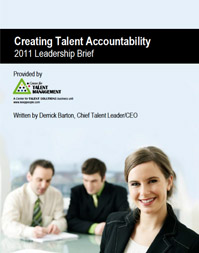 Creating Talent Accountability