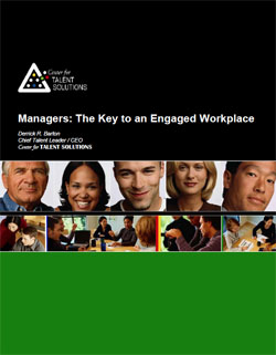 Managers are the key to engagemenet