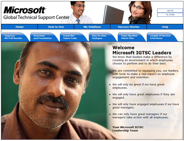 Microsoft Take Action Solutions